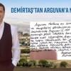 DEMİRTAŞ'DAN ARGUVAN'A MEKTUP VAR